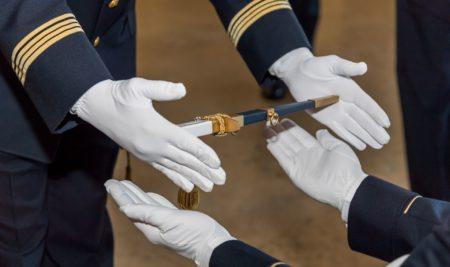 Cérémonie des poignards COEA 18A