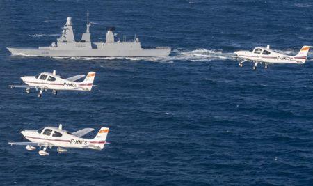 Exercice aéronaval pour le CFAMI