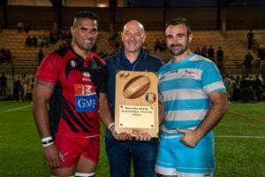 Rencontre de rugby entre le XV de l'armée de l'air et le XV du Pacifique 11-10-2019