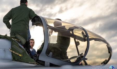 Les élèves de l'École de l'air à la découverte des opérations aériennes