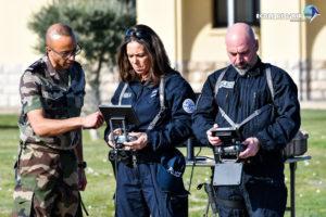 Visite de la délégation Direction générale de la Police Nationale le 07 janvier 2020