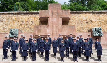18/06/2020 : les élèves officiers présents au Mont-Valérien