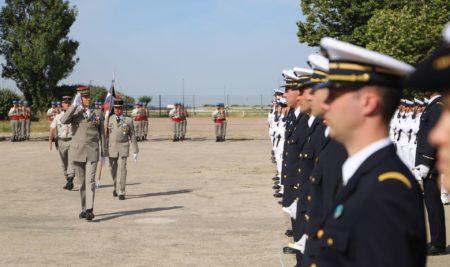 Cérémonie militaire du 14 juillet à Marseille