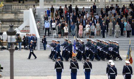 14 juillet : l'École de l'air sur la Place de la Concorde