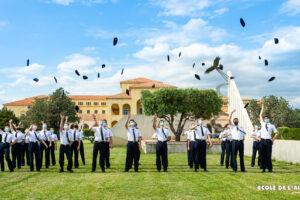 Cérémonie de remise d'insigne aux Escadrilles Air Jeunesse